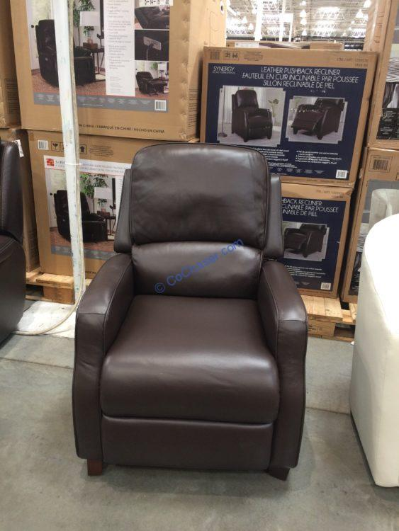 Synergy Home Kyleigh Leather Recliner
