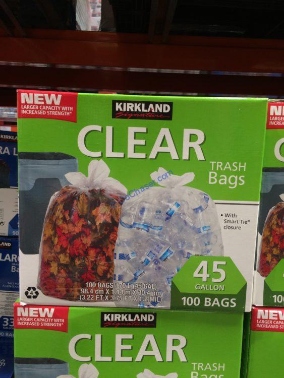 Costco-1300660-Kirkland-Signature-45-Gallon-Clear-Trash-Bag