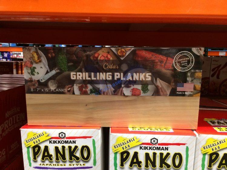 Wildwood Grilling Cedar Grilling Planks 8 Pack