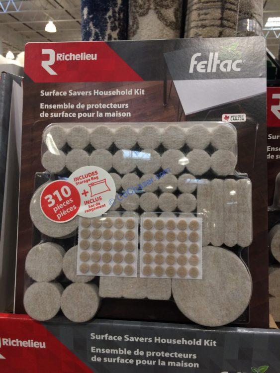 Richelieu Felt Surface Savers Household Kits 310 PCS
