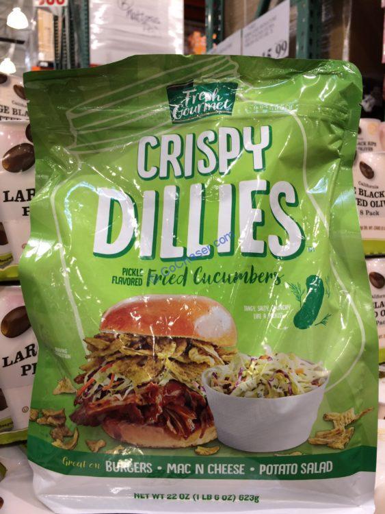 Fresh Gourmet Crispy Dillies Cucumbers 22 Ounce Bag
