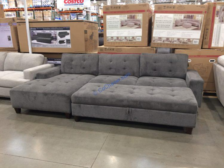 Klaussner Killian Fabric Sectional With