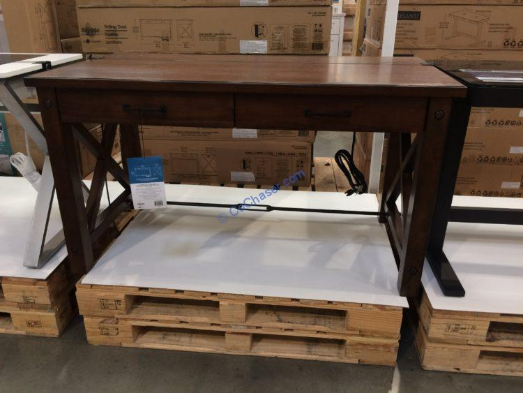 "Bayside Furnishing Whitman 54"" Writing Desk, Model#CSC54WD-5PC"