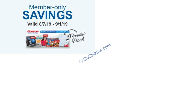 Costco Coupon Book: Aug. 07 – Sep. 01, 2019