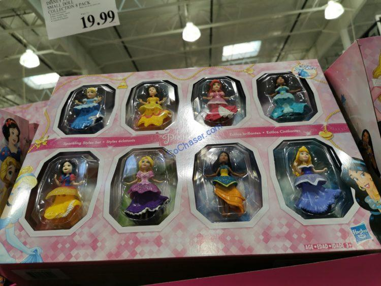 Disney Princess Small Doll Collection 8 Pack