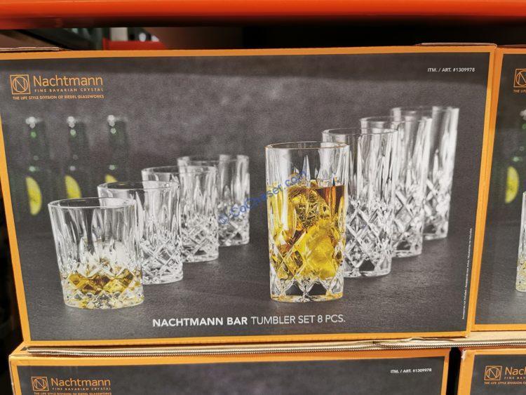 Nachtmann Noble Crystal Glass 8 Piece Set
