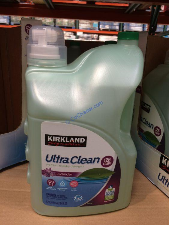 Kirkland Signature Ultra Clean HE Liquid Laundry Detergent 126 Loads / 194 fl.oz