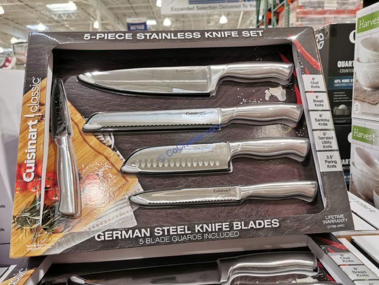 Cuisinart 5-piece Stainless Steel Knife Set