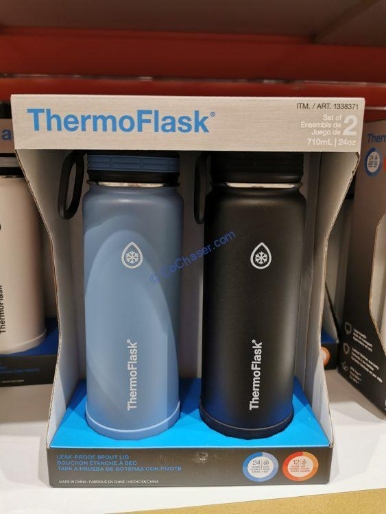 Thermoflask Stainless Steel Water Bottle 2PK