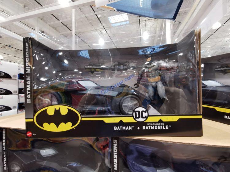 Mattel Batman & Batmobile Set