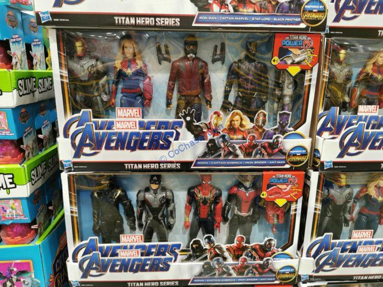 Marvel Avengers Titan Hero 4-pack