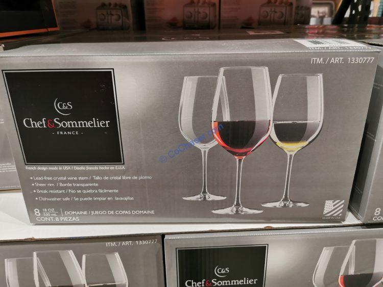 CHEF & Sommelier Crystal Wine Stem 8 Piece