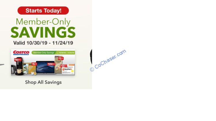 Costco Coupon Book: Oct. 30 – Nov. 24, 2019