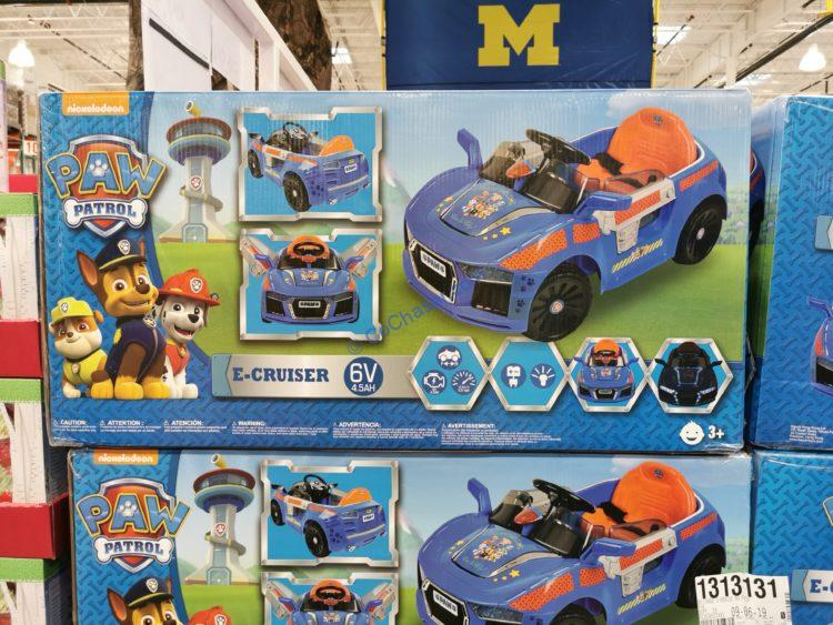 Nickelodeon Paw Patrol E-Cruiser