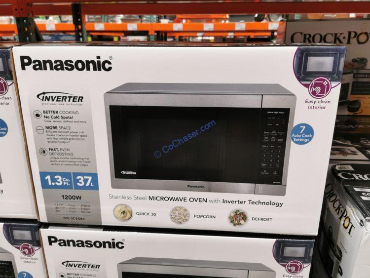 Panasonic 1.3CuFt Countertop Microwave Oven, Model# NN-SC668S