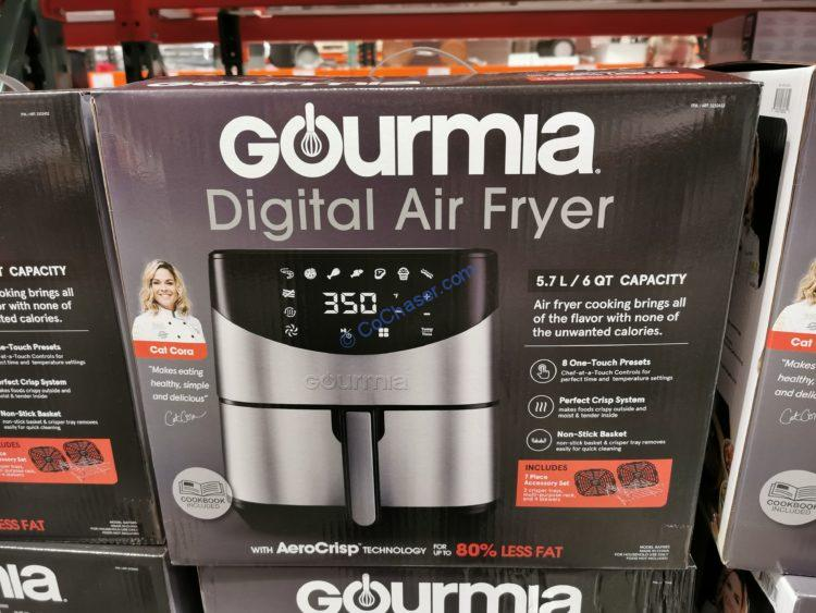 Gourmia Digital Air Fryer 6-Qt. Capacity, Model#GAF685
