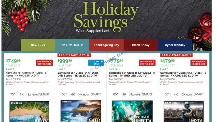 Costco Holiday Savings: November 22 – December 2, 20119