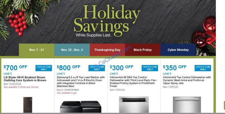 Costco Holiday Savings: November 07 – 21, 20119