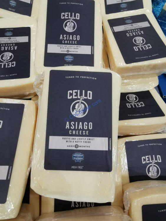 Cello Asiago Cheese Wedge