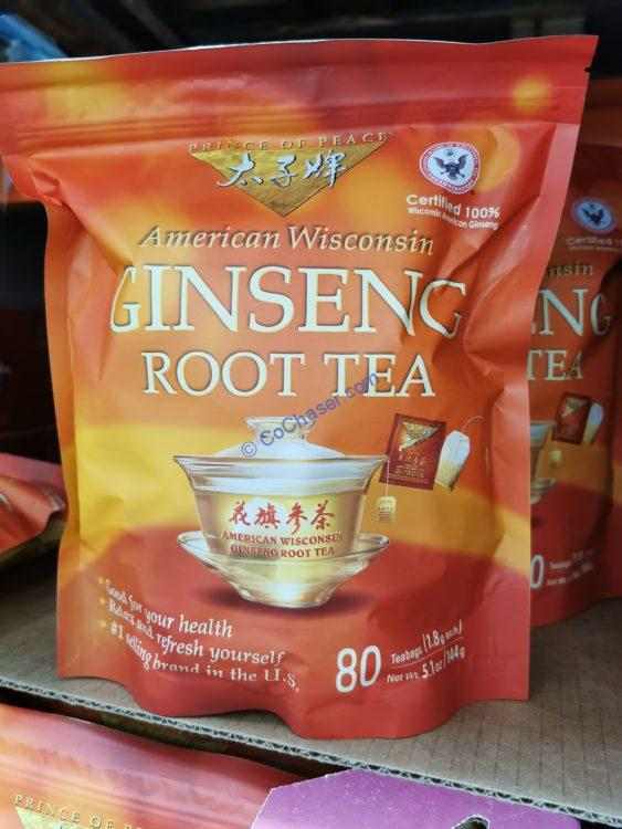 Prince of Peace Ginseng Root Tea, 80 ct