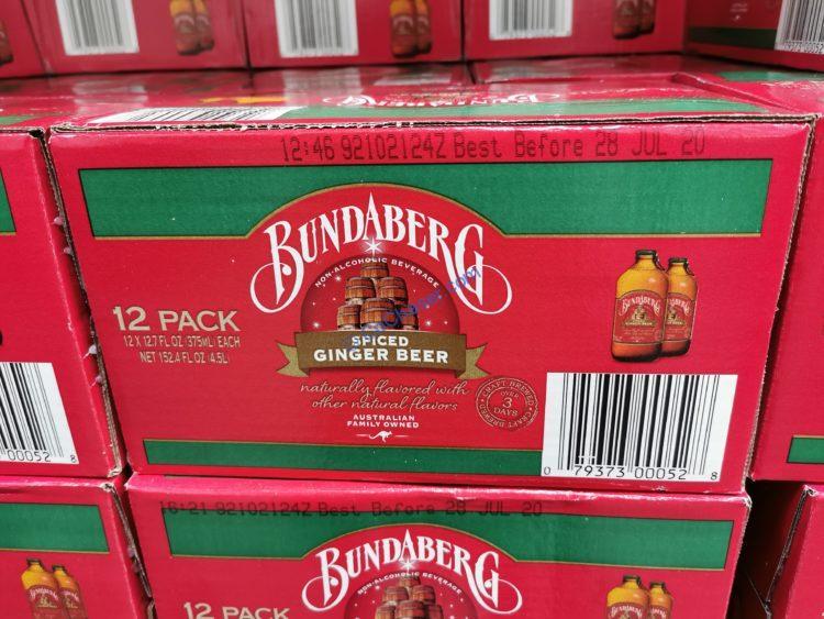 Bundaberg Spiced Ginger Beer 12/12.7 Ounce Bottles