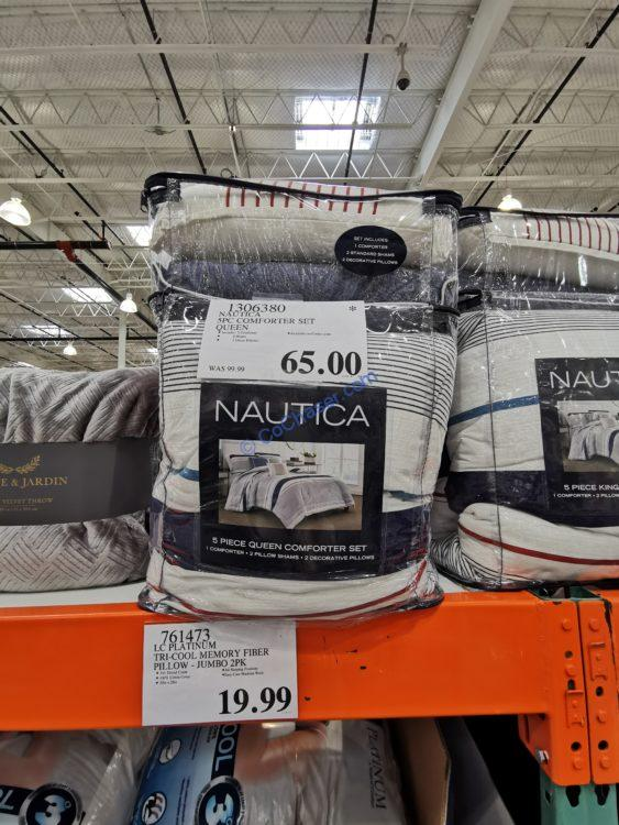 Nautica 5PC Comforter Set Queen