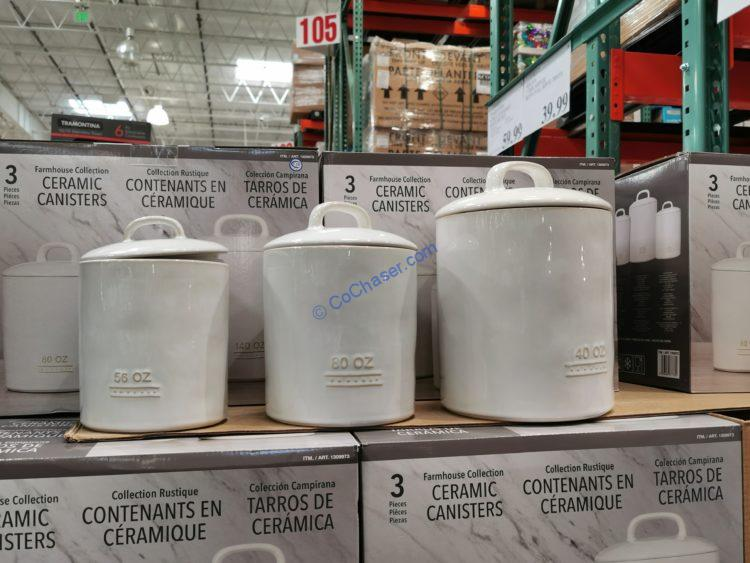 Bico 3-piece Canister Set