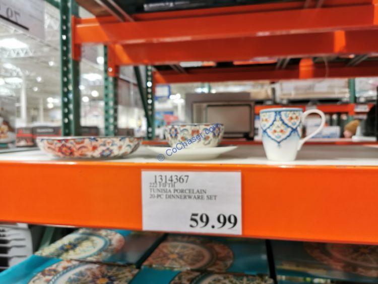 222 Fifth Tunisia 20-piece Porcelain Dinnerware Set