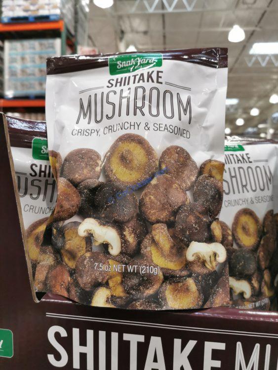 The Snak Yard Shiitake Mushrooms 7.5 Ounce Bag