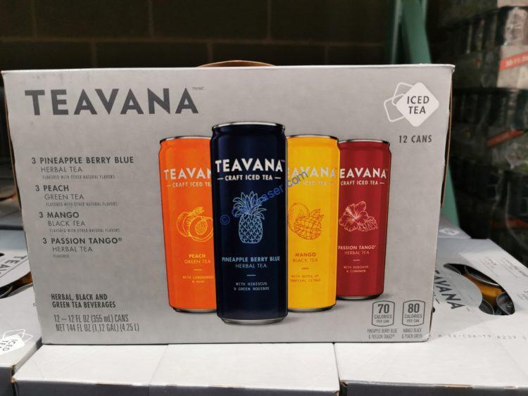 Teavana Tea Variety Pack 12/12 Ounce Cans