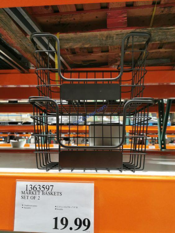 Market Baskets Set of 2