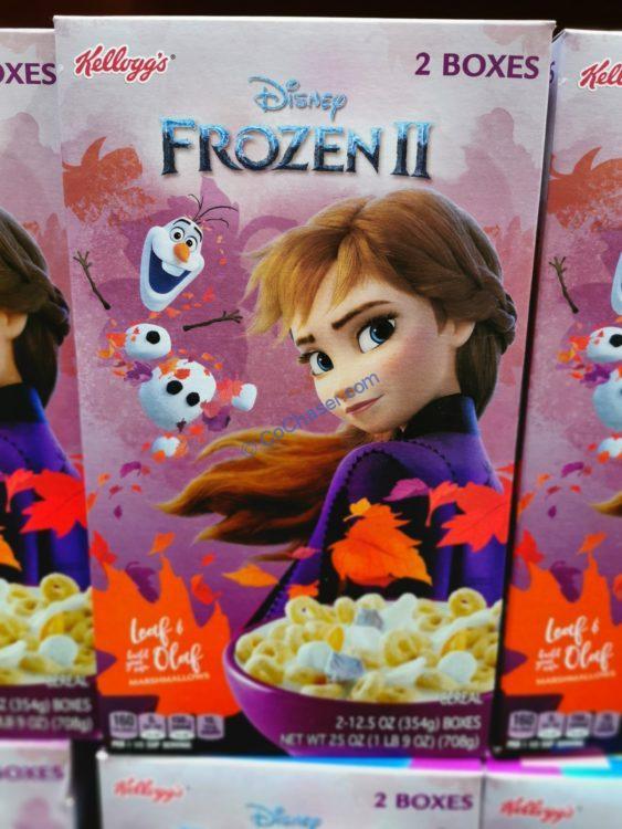 Kellogg's Frozen II Cereal 25 Ounce Box