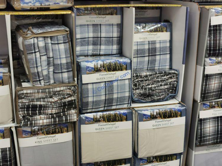 Flannel 4PC Sheet Set:  Full, Queen and King