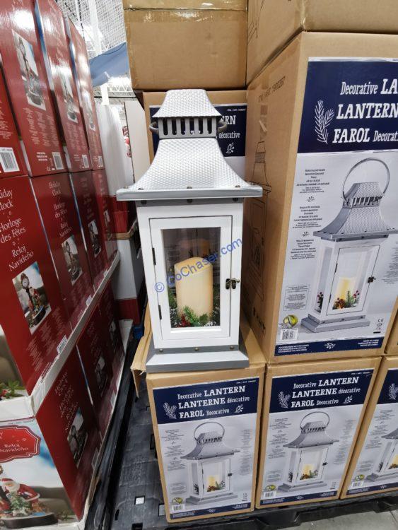 Costco-1900267-Decorative-Lantern-Flickering-LED-Candle