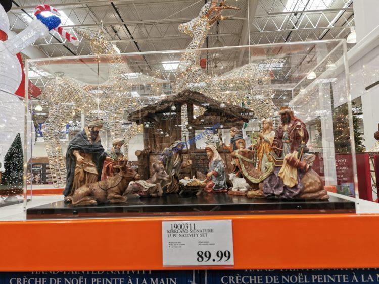 Kirkland Signature Nativity Set 13 PC