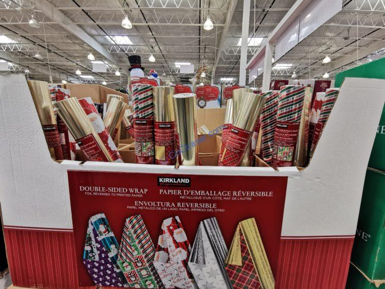Kirkland Signature Double Sided Christmas Wrap