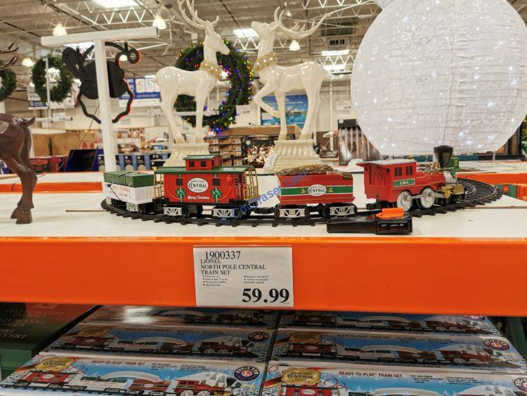 Lionel North Pole Central Train Set