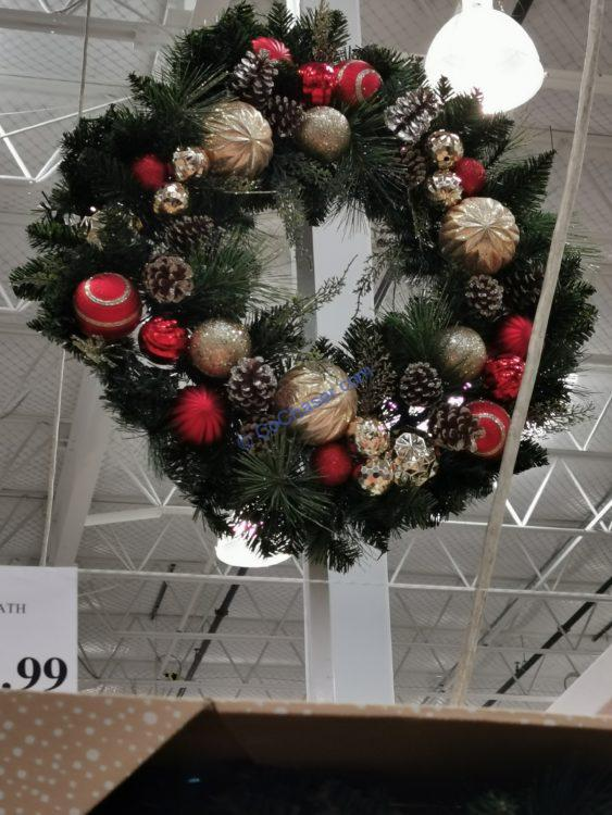 "30"" Decorated Artificial Wreath"