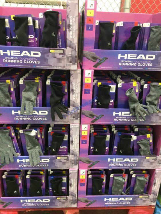 Head Women's Touchscreen Running Gloves