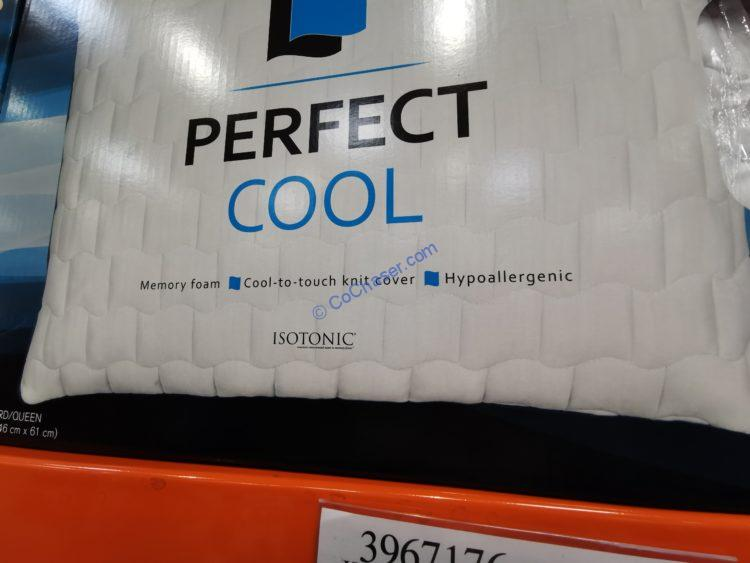 Costco 2258888 Isotonic Perfect Cool Memory Foam Pillow Name