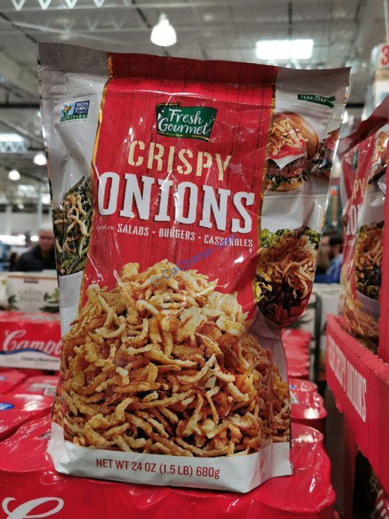 Fresh Gourmet Crispy Onions 24 Oz Costcochaser