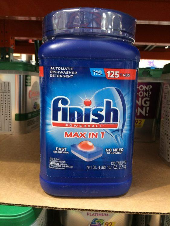 Finish Powerball Max in One Plus, 125-count Container
