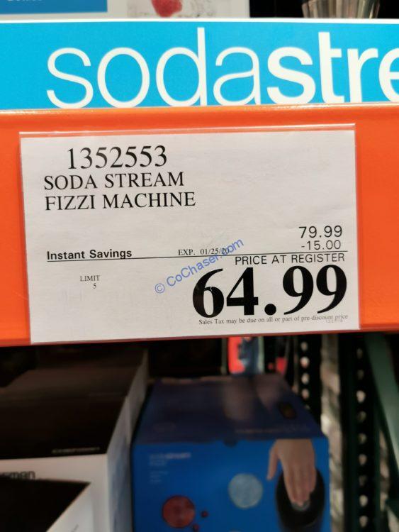 Costco-1352553-Sodastream-Fizzi-Sparkling-Water-Machine-tag1