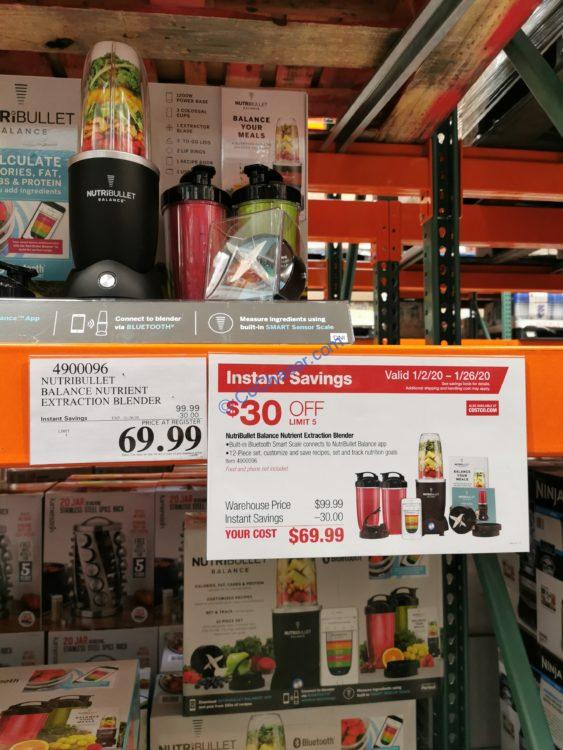 Costco-4900096-Nutribullet-Balance-Bluetooth-Smart-Blender-tag1