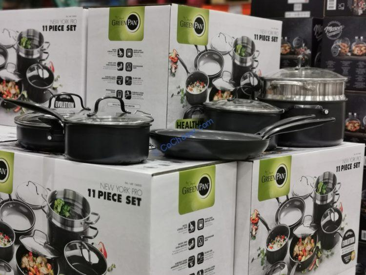 Greenpan 11-Piece Ceramic Cookware Set