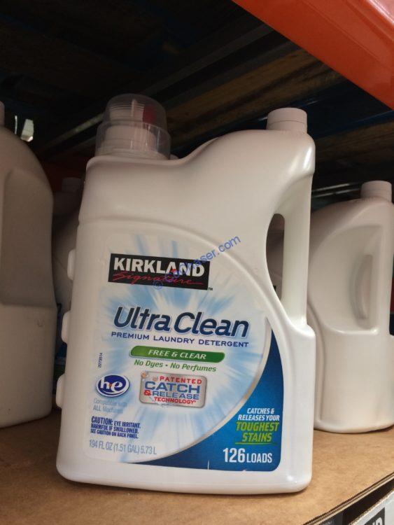 Kirkland Signature Ultra Free & Clear HE, 126 loads, 194 fl oz