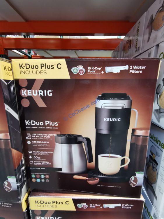 Keurig K-Duo Plus C Coffee Maker with Single Serve