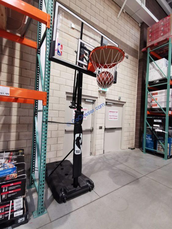 "Spalding 54"" Portable Hoop System"