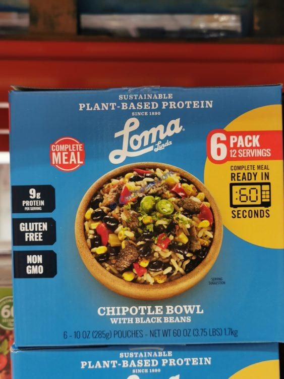 Loma Linda Chipotle Bowl 6/10 Ounce Pouches