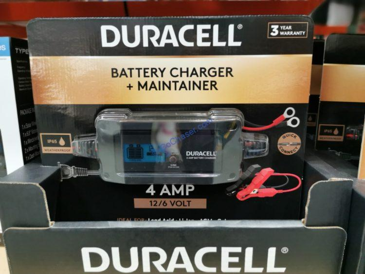 Duracell 4 Amp Battery Charger and Maintainer